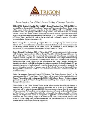 Trigon Increases Land Position in Utah Henry Mountains Project