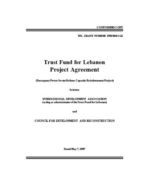 Trust Fund for Lebanon