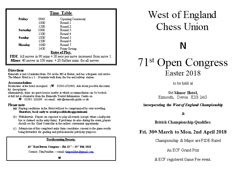West of England Chess Union