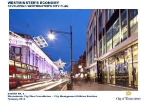 Westminster'S Economy Developing Westminster'S City Plan