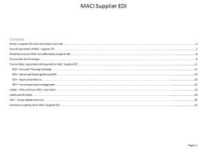 What Is Supplier EDI and What Does It Provide