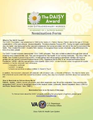 What Is the DAISY Award?