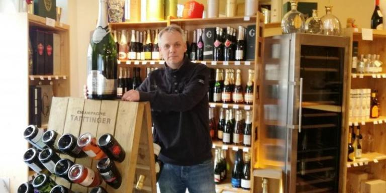Stephan Holst from Maison des Champagnes