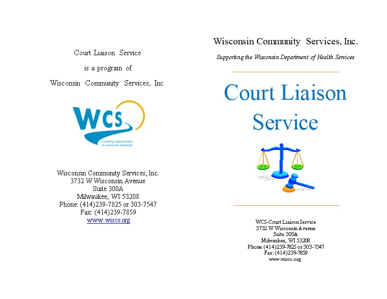 Wisconsin Community Services, Inc