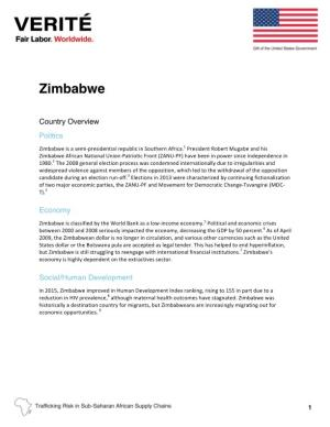 Zimbabwe Country Overview